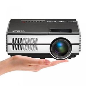 ゲーミングPC Portable LED Home Projector 1500 Lumens 10...
