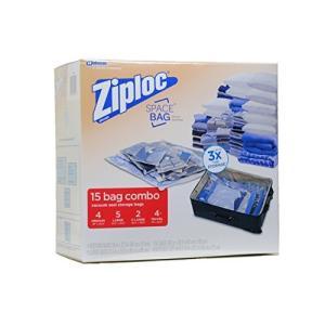 Ziploc スペースバッグ 2XL,5L,4M,4 Travel 895885