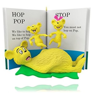 Dr. Seuss - Hop on Pop Book Ornament 2015 Hallmark