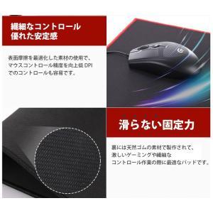 マウスパッド 超大型 マウスパッド キーボード メール便送料無料 肘・疲労軽減 光学式・レーザー式・ブルーLED式対応 デザイナー ポイント消化|soo-soo|05