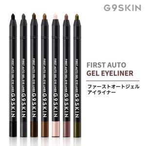 G9SKIN First Auto Gel Eye Liner ジーナイン オートジェルアイライナー 7色 ペンシル アイメイク 韓国コスメ ウォータープルーフ アイライナー メイクアップ|soo-soo