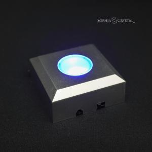 LEDライトスタンド ソフィアクリスタルトロフィー 表彰・認定やスポーツ大会の表彰楯、記念品に DL-06 sophia-crystal