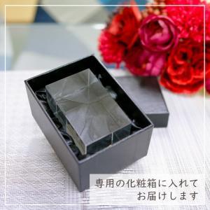 クリスタル イニシャルキューブ CB558-ic-f 結婚祝い 開店祝い 新築祝い オリジナル ギフト プレゼント アルファベット 名入れ おしゃれ オブジェ インテリア|sophia-crystal|04