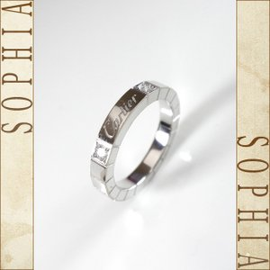 Cartier カルティエ ラニエールリング K18ホワイトゴールド/2Pダイヤ サイズ51(11号) K18WG B40757 |sophianetshop