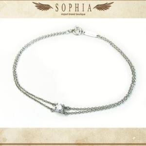 ティファニー ソリティアダイヤモンドブレスレット Pt950|sophianetshop