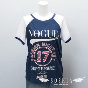 VOGUE Tシャツ ファッションナイトアウト 2013 紺x白[20180922]|sophianetshop