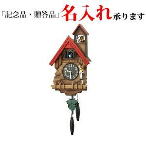 リズム時計 クオーツ鳩時計 4MJ732RH06 カッコーチロリアンR|sophias