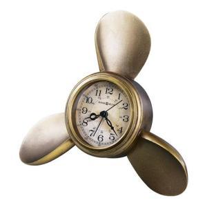 ハワードミラー 645-525 HOWARD MILLER PROPELLER ALARM クオーツ置き時計  送料区分(中)|sophias
