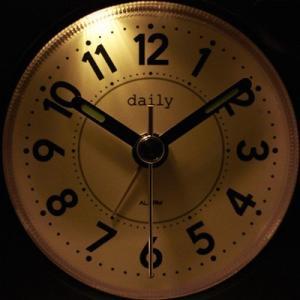 リズム時計 デイリー 8REA27DN01 クオーツめざまし時計 デイリーRA27 赤|sophias|02