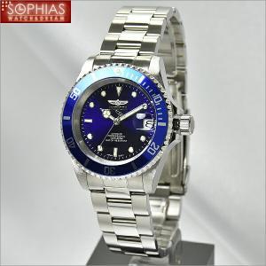 INVICTA インビクタ メンズ腕時計 9094OB  PRO DIVER プロダイバー 自動巻 ブルー×シルバー  (長期保証3年付)|sophias