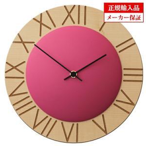 ピロンディーニ ART015-PINK Pirondini 木製掛け時計 Ettore 15 ピンク 送料区分(大)|sophias