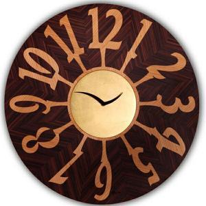 ピロンディーニ ART060A Pirondini 木製掛け時計 Orvieto 060A ブラウン|sophias