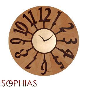 ピロンディーニ ART060B Pirondini 木製掛け時計 Orvieto 060B ナチュラル|sophias