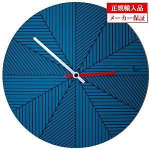 ピロンディーニ ART084-BLUE Pirondini 木製掛け時計 Cronofilla 84 ブルー|sophias