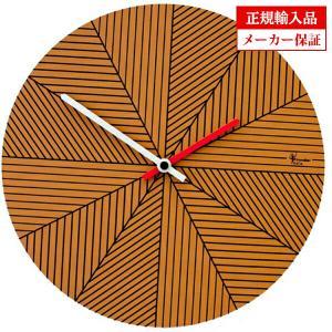 ピロンディーニ ART084-BROWN Pirondini 木製掛け時計 Cronofilla 84 ブラウン|sophias