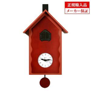 ピロンディーニ 101A Pirondini 木製鳩時計 Cucu Lac レッド|sophias