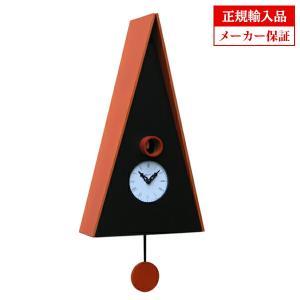 ピロンディーニ 102-ORANGE Pirondini 木製鳩時計 Norimberga 102 オレンジ|sophias