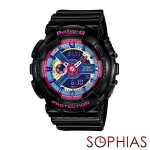 カシオ ベビーG BA-112-1AJF 腕時計 ブラック (長期保証8年付)|sophias