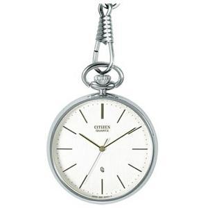 シチズン CITIZEN 懐中時計 ポケットウオッチ BC0420-61A シルバー|sophias