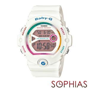 カシオ ベビーG BG-6903-7CJF フォー・ランニング 腕時計 ホワイト (長期保証8年付)|sophias