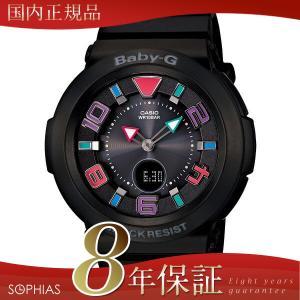 カシオ ベビーG BGA-1601-1BJF トリッパー 電波ソーラー 腕時計 ブラック (長期保証8年付)|sophias