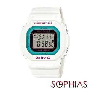 カシオ ベビーG BGD-5000-7BJF 電波ソーラー 腕時計 ホワイト (長期保証8年付)|sophias
