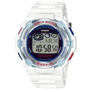 【完売】カシオ ベビーG BGR-3007K-7JR イルカ・クジラモデル 電波ソーラー 腕時計 (長期保証10年付)|sophias