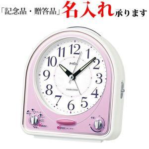 セイコークロック SEIKO クオーツ NR435P めざまし時計 ピクシス メロディアラーム ピンク 記念品 名入れ承ります sophias