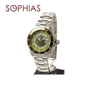ルシアン ペラフィネ DR01 自動巻き リーフ カーキ 腕時計 (ST) (長期保証3年付)|sophias