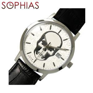 ルシアン ペラフィネ DR04 クオーツ スカル  腕時計 (ST) (長期保証3年付)|sophias