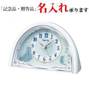 セイコー クオーツ FD476W 置き時計 ディズニータイム アナと雪の女王|sophias