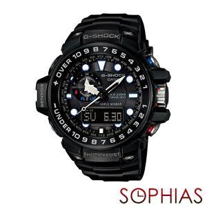 カシオ Gショック GWN-1000B-1AJF 腕時計 GULFMASTER(ガルフマスター) ブラック 電波ソーラー (長期保証5年付)