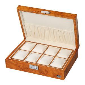 腕時計収納ケース LUHW ローテンシュラガー LU51010RW 木製 8本収納 薄木目|sophias