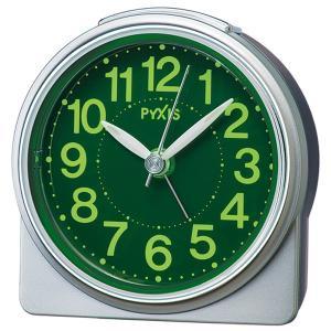 セイコークロック SEIKO クオーツ NR439S めざまし時計 ピクシス スタンダード 銀メタリック sophias 02