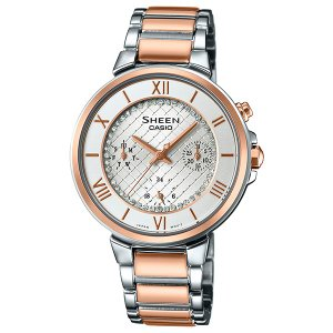 カシオ シーン SHE-3040SGJ-7AJF クオーツ レディース腕時計 (長期保証5年付)|sophias