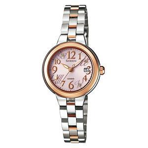 カシオ シーン SHE-4506SBS-4AJF ソーラー Star Index Series レディース腕時計 (長期保証5年付)|sophias