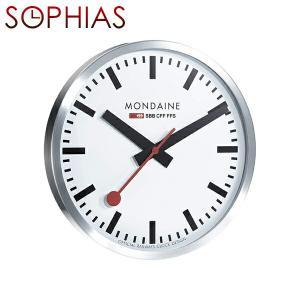 モンディーン MONDAINE A995.CLOCK.16SBB MD189 ウォールクロック 40cm ジャンボ壁掛け時計 送料区分(大)|sophias