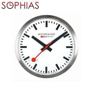 モンディーン MONDAINE A990.CLOCK.16SBB/MD40W Wall Clock ウォールクロック 壁掛け時計 ホワイト [正規輸入品] 送料区分(中)|sophias