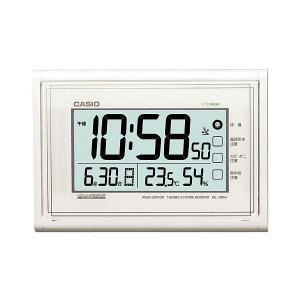 カシオ CASIO IDL-150NJ-7JF デジタル 電波掛け時計 生活環境お知らせ機能搭載 パールホワイト|sophias