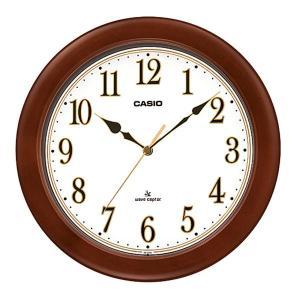 カシオ CASIO IQ-1105J-5JF アナログ 電波掛け時計 シルバー|sophias