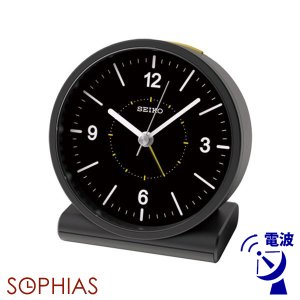 セイコークロック SEIKO 電波 KR328K めざまし時計 スタンダード ブラック 記念品 名入れ承ります|sophias