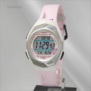 カシオ フィズ STR-300J-4JF ピンク 電池寿命10年モデル アスリート用腕時計 (長期保証3年付)|sophias