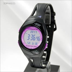 カシオ フィズ STR-300J-1CJF パープル ラップ/スプリット最大60本メモリー アスリート用腕時計 (長期保証3年付)|sophias