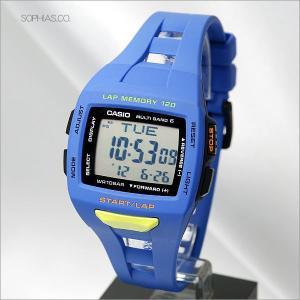 カシオ フィズ STW-1000-2JF ブルー マルチバンド6 電波ソーラー ランナー用腕時計 (長期保証3年付)|sophias