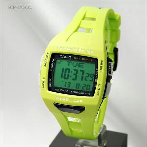カシオ フィズ STW-1000-3JF SPORTS ランナー用 マルチバンド6 ソーラー電波時計腕時計 (長期保証3年付)|sophias