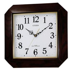 シチズン 電波掛時計 8MYA13-006 スタンダード 綾波|sophias