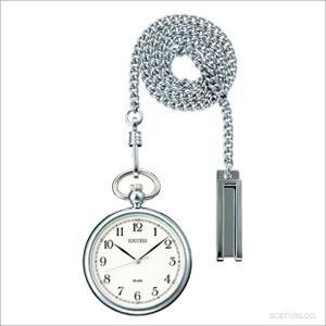 セイコー アルバ AABT063 ポケットウォッチ SEIKO ALBA サクセス シルバー 懐中時計|sophias