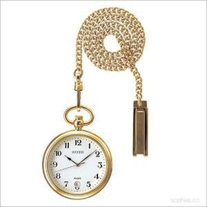 セイコー アルバ AABU004 ポケットウォッチ SEIKO ALBA サクセス 日付表示付き ゴールド 懐中時計|sophias