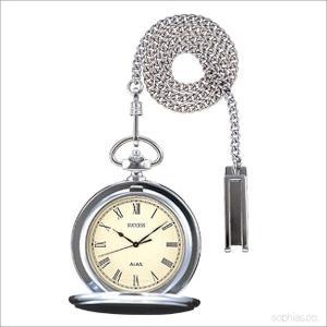 セイコー アルバ AABW141 ポケットウォッチ SEIKO ALBA サクセス シルバー ローマ数字 懐中時計|sophias