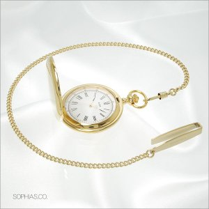 セイコー アルバ AABW148 ポケットウォッチ SEIKO ALBA ゴールド ローマ数字 懐中時計|sophias